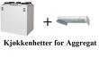 Kjøkkenhetter Luftbehandlingsaggregat