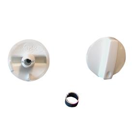 FUTURUM 200 serien - Hastighetsvrider Hvit med låseclips