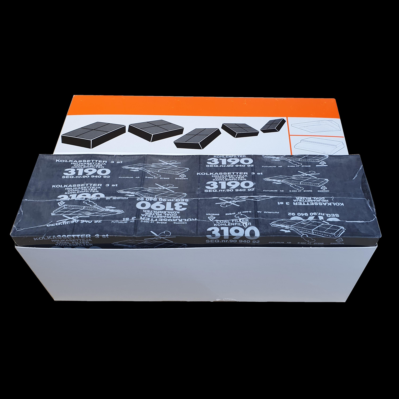 Kulfilterkassetter - Pakke med 15 stk (Franke nr 3195)