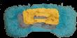 3-pack reservemopper - Gul, Grå og Blå
