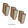 3 stk Filtersett Flexit S4R, S6R og S7R aggregatene