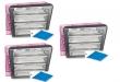 3 stk Filtersett Enervent TS 200/300/400 prod. før sept 2013