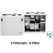 3 stk Filtersett Ensy AHU 350 / AHU 400