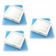3 stk Kompaktkassett TS 200 (230x230x48) + duker