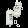 Driftskondensator 2uF for Vallox vifter - flatstift 6,3