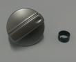 FUTURUM 200 serien - Hastighetsvrider Sølv med låseclips