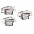 3 stk Filtersett for TS 300 og TS 400 produsert etter 2013