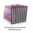 Helmodul -  F7 592x592x550-10 poser