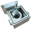 IRE 125 C1 - Isolert kanalvifte - MAX 440 m3/t