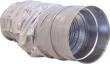 Lydfelle m/50mm isolasjon - Ø125