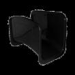 Slangeholder i sort plast