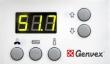 Styringspanel ES 580_1 uten drejeknapp (optima 180)